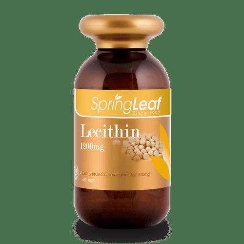 Springleaf-Lecithin 1200mg 200 Capsules