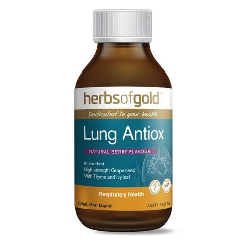 Herbs of Gold Lung Antiox 200mL Oral Liquid