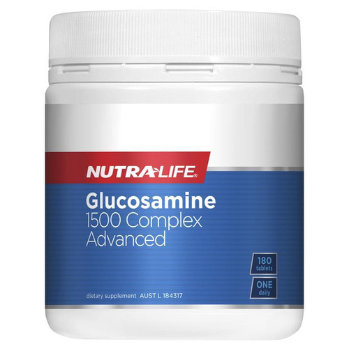 NutraLife Glucosamine 1500 Complex Advanced 180 Tablets