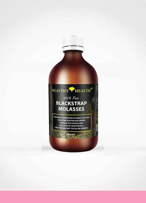 Wealthy Health Blackstrap Molasses 100% Pure