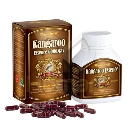 Top Life Kangaroo Essence 6000 Max - 100 Capsules