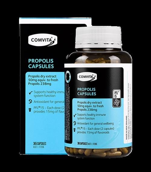 Comvita Propolis Capsules PFL 15 365 Capsules