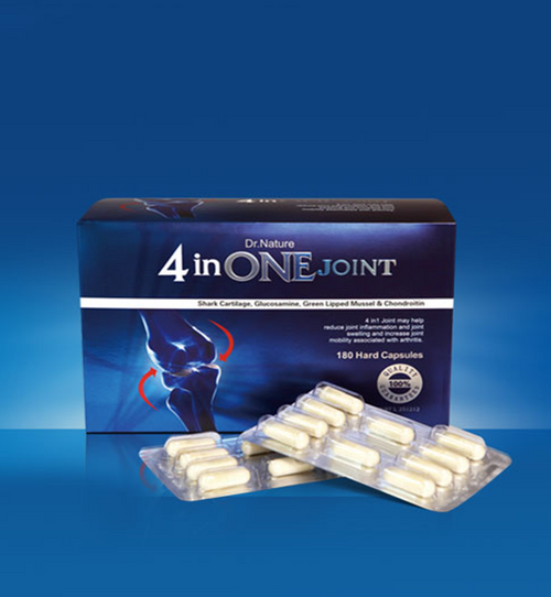 Dr. Nature 4 in One Joint 180 Capsules