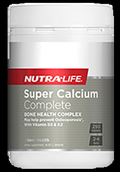 Nutralife Super Calcium Complete 250 Tablets