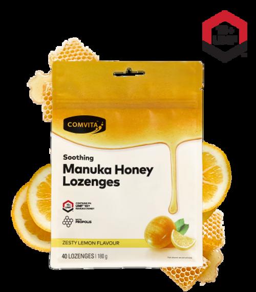 Comvita Manuka Honey Lozenges with Propolis - Lemon and Honey 40 Lozenges