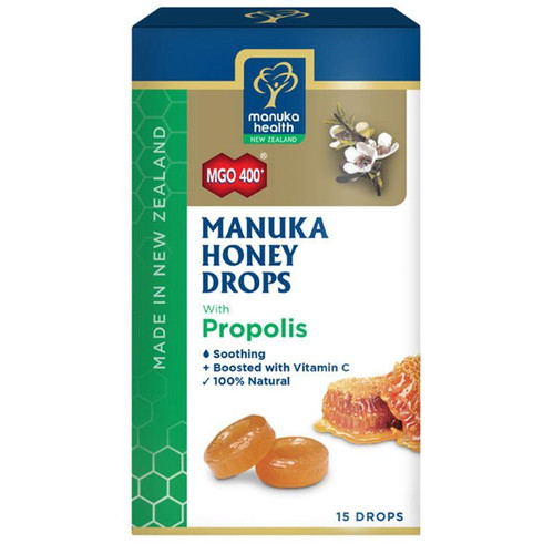 Manuka Health Manuka Honey Drops Propolis 15 Drops