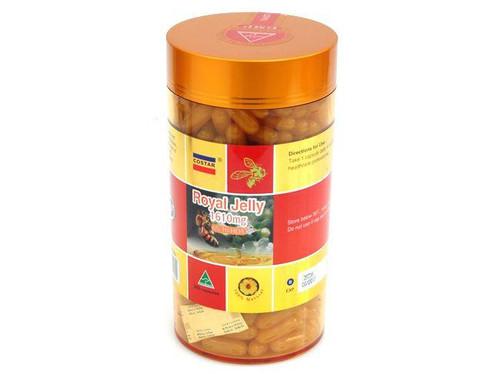 Costar Royal Jelly 1610mg 6% 10-HDA 365 Capsules