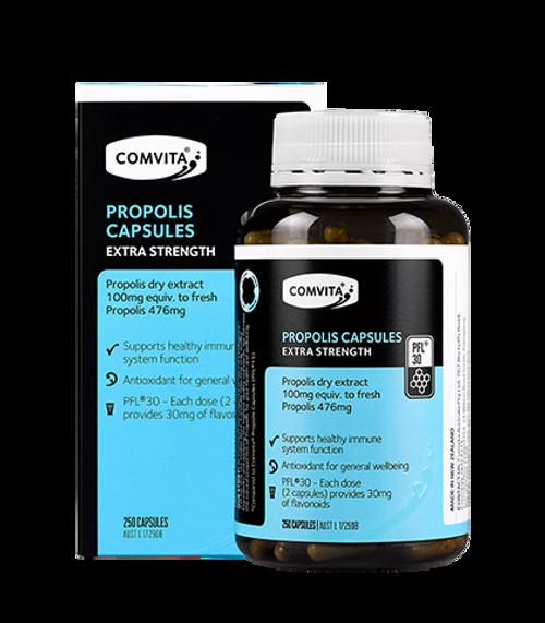 Comvita Propolis Extra Strength PFL 30 / 250 Capsules
