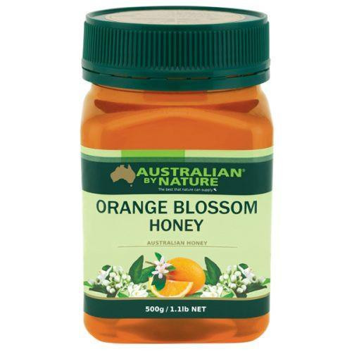 Australian by Nature Orange Blossom Honey 500g