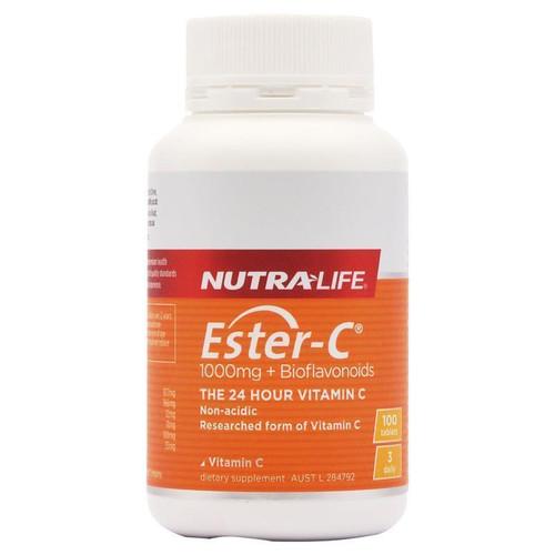 Nutralife Ester C 1000mg 100 Tablets