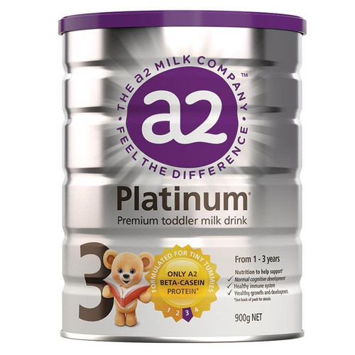 A2 Platinum Toddler Formula Stage 3 1-3 years 900g