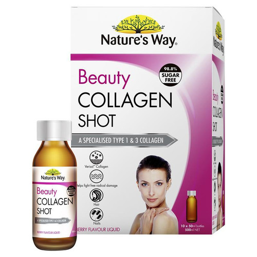 Nature's Way Beauty Collagen Shot 10 x 50mL