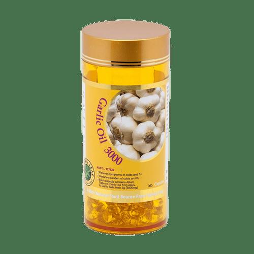 Spring Leaf Garlic Oil 3000 / 365 Capsules