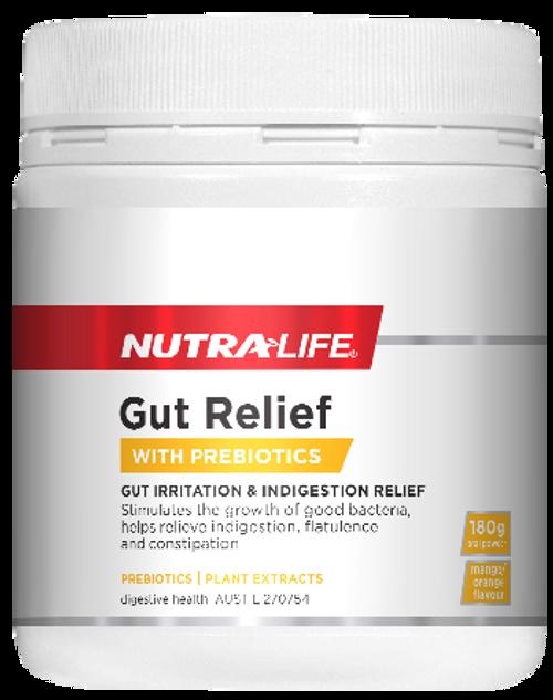 NutraLife Gut Relief with Prebiotics 180G