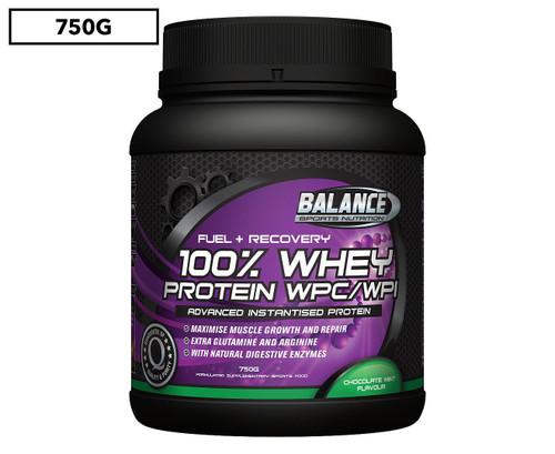 100 % Whey Protein WPC/WPI Balance - Advanced Instantised Protein 750G (FREE Shaker)