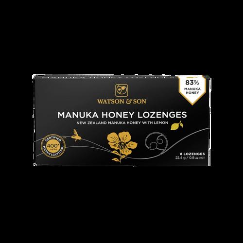 Watson & Son Manuka Honey & Lemon Lozenges