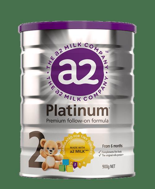 A2 Platinum Premium Follow-on Formula Stage 2 6-12 months 900g