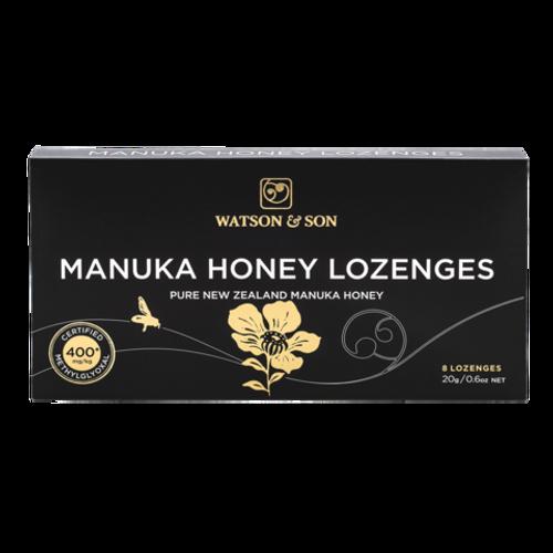 Watson & Son Manuka Honey 400+ Premium Black Label Lozenges