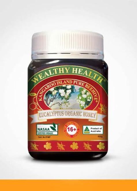 Wealthy Health Eucalyptus Organic Honey
