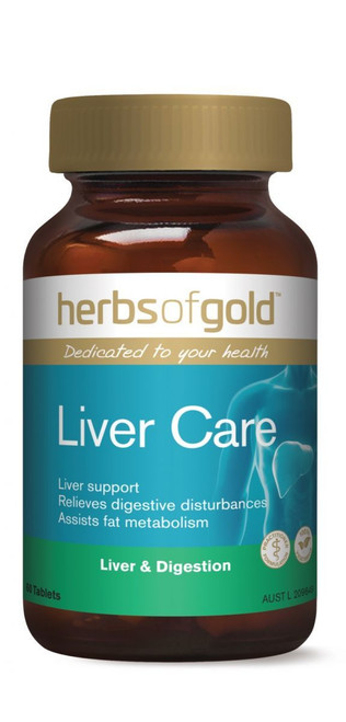 Herbs of Gold Liver Care 60 Tablets