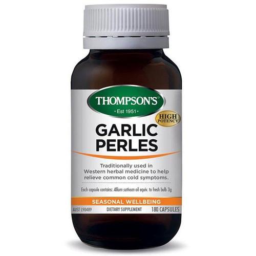 Thompson Garlic Perles 180 Capsules