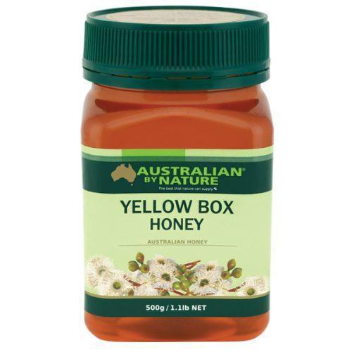 3x AUSTRALIAN BY NATURE YELLOW BOX HONEY 500G