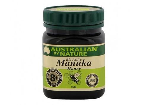 3x Australian by Nature Manuka Honey 8+ 250 g - New Zealand Manuka Honey