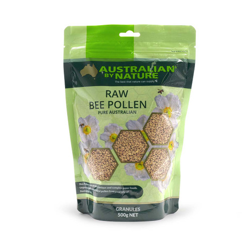 Australian by Nature Raw Bee Pollen Granules 500g