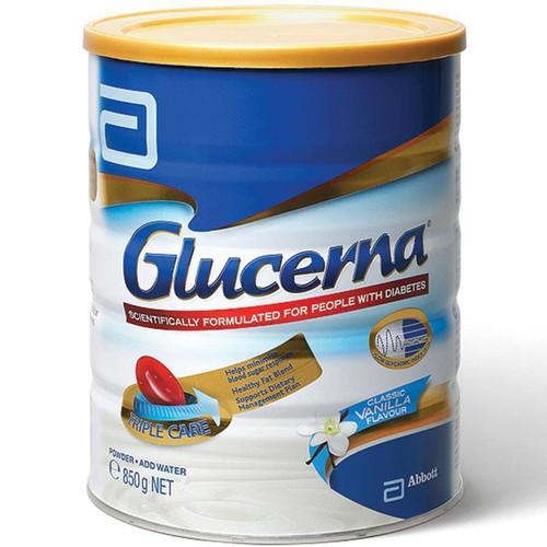 Glucerna Triple Care Vanilla Diabetic Milk Powder 850g