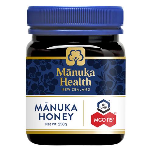 Manuka Health MGO 115+ 250g Manuka Honey New Zealand