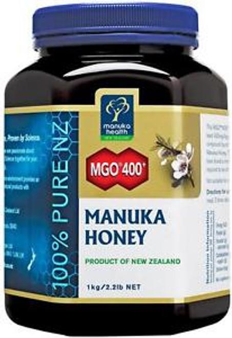 Manuka Health MGO 400+ 1KG Manuka Honey New Zealand