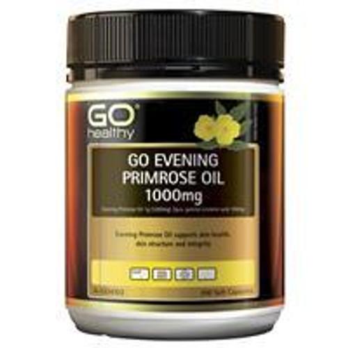 Go Healthy Evening Primrose Oil 1000mg 200 Soft Capsules