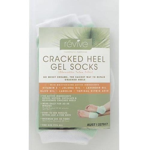 Revive Cracked Heel Gel Socks
