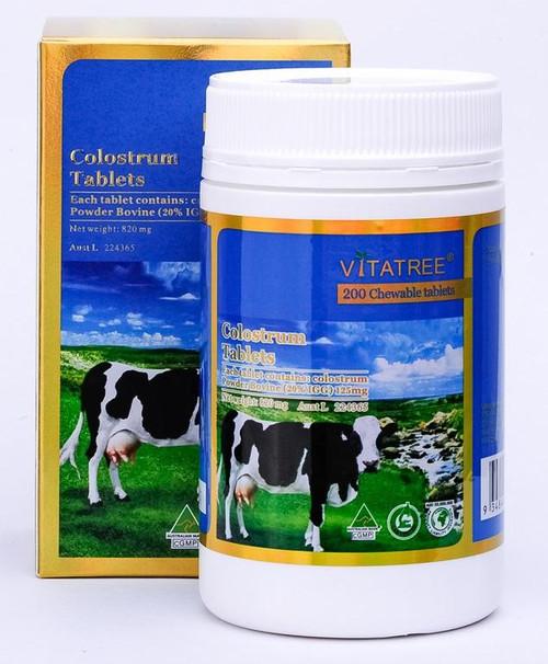 Vitatree Colostrum 200 Chewable Tablets