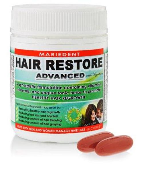 Hair Restore Advanced Mariedent 60 Capsules