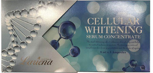 Lariena Cellular Whitening Concentrate - 8ml x 3 Ampoules - Australian made