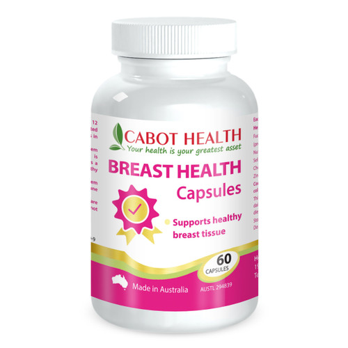 Cabot Health Breast Health 60 Capsules