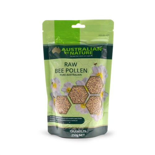 Australian by Nature Raw Bee Pollen Granules 250g