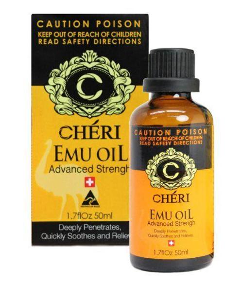 Cheri Emu Oil Advanced Strength 50mL