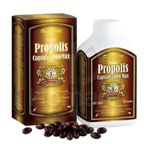 Top Life Propolis Capsule 1000mg Max - 365 Capsules