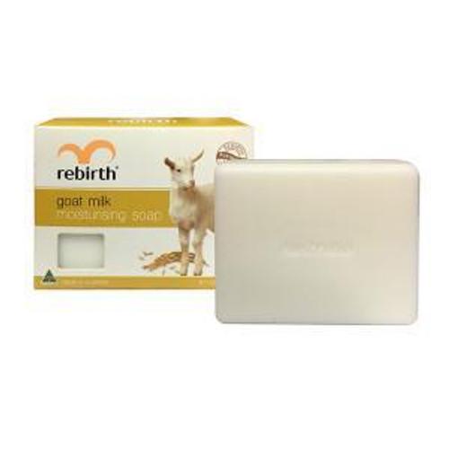REBIRTH GOAT MILK MOISTURISING SOAP 100G