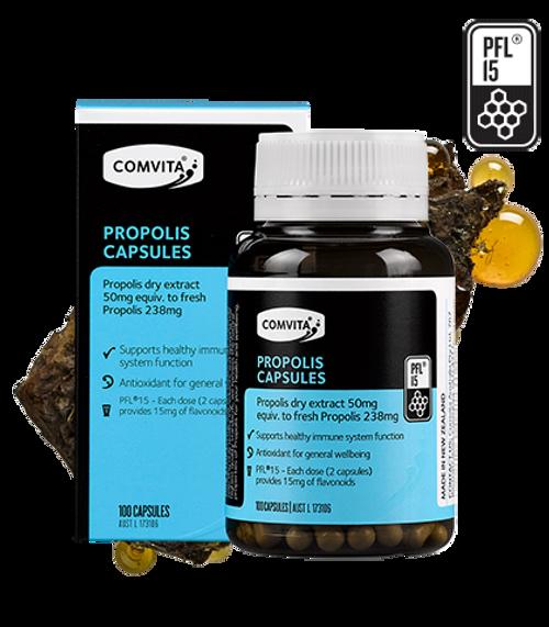 Comvita Propolis Capsules PFL 15 100 Capsules