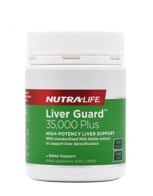Nutralife Liver Guard 35000 Plus 100 Capsules