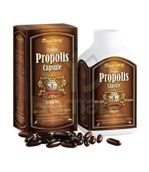 Top Life Propolis Capsule 2000mg Max - 365 Capsules