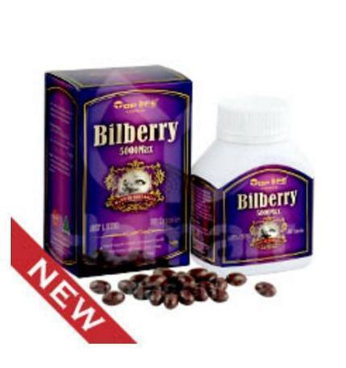 Top Life Bilberry 5000 mg - 180 Capsules