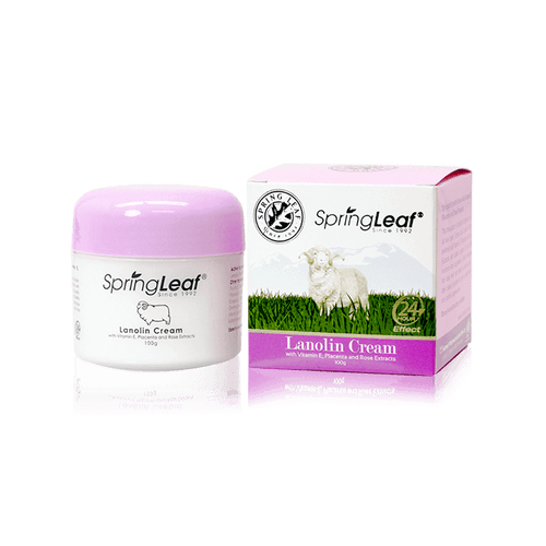Lanolin Cream with Vitamin E, Placenta and Rose Extracts