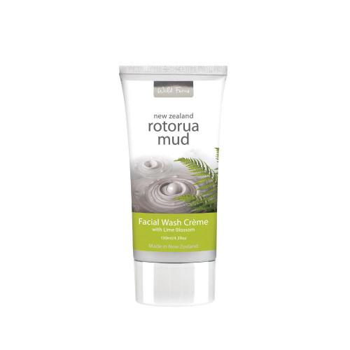 Wild Ferns Rotorua Mud Facial Wash Creme 130mL