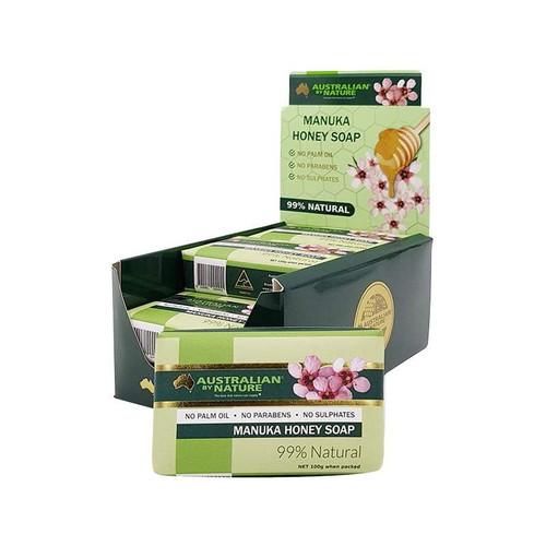 9x Manuka Honey Soap 100g Australian By Nature