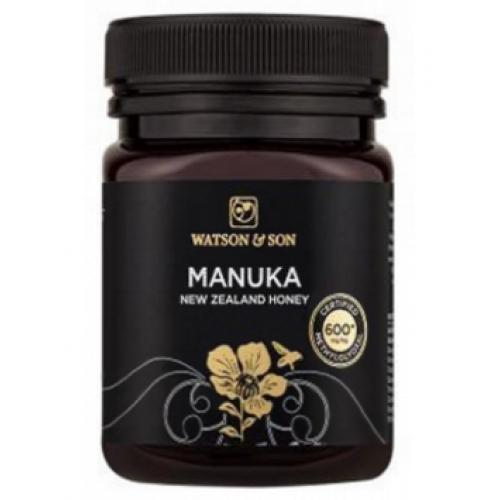 Watson & Son Manuka Honey 600+ Premium 'Black Label' 500g