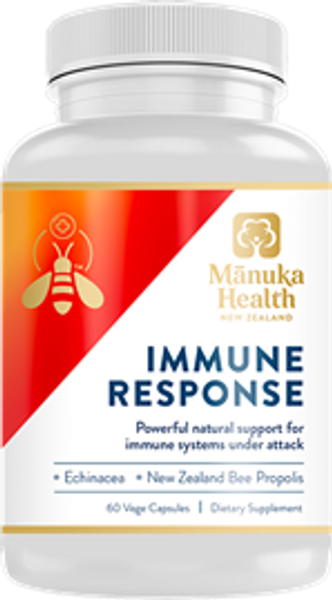 Manuka Health Immune Response - 60 Vege Capsules